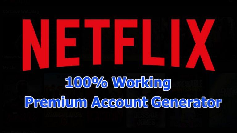 Netflix Free Accounts Generator