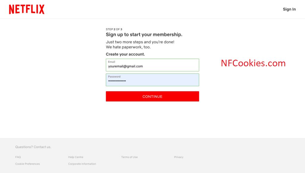 Netflix Free Accounts